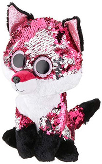 TY TY36440 Jewel Fox FLIPPABLE-MED, Multicolored, 23 cm