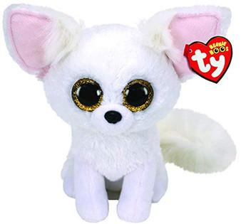 Ty UK Ltd 36225 Phoenix Fox - Beanie Boos Plush Toy, Multicoloured, 15cm