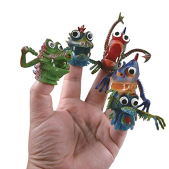 Funtime Gifts FU7540 Funfingers Monsters, Multi-Coloured