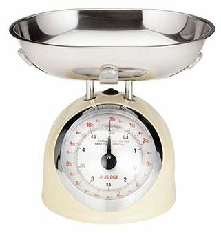 Judge Kitchen 5kg Traditional Scales Cream