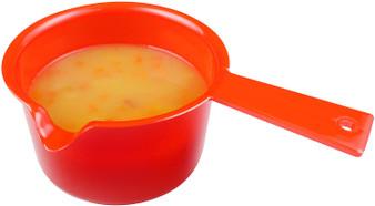 Good 2 Heat Microwave Red  600ml Saucepan