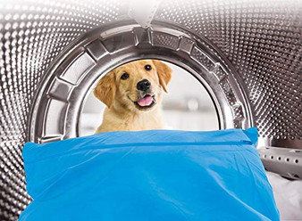 Yes Please Pet Hair Laundry Bag