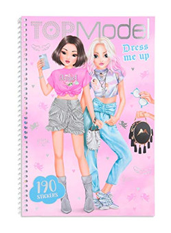 Depesche TOPModel Dress Me Up Kitchy Angel Colouring Book with Stickers