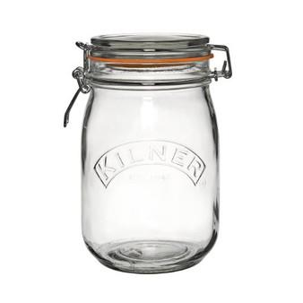 Kilner Clip Top Jar - Round 1L - 25491