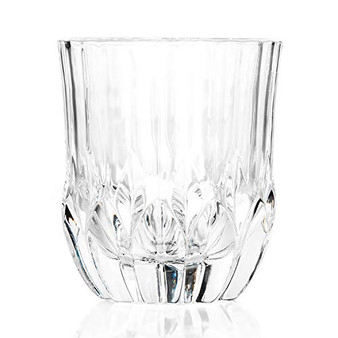 RCR 25745020106 Adagio Crystal Short Whisky Water Tumbler Glasses, Set of 6