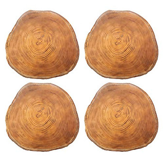 iStyle Wild Wood Effect Set of 4 Placemats