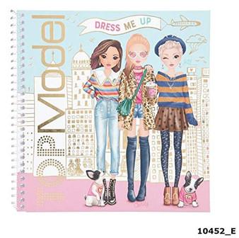 Depesche 10452 Sticker Book TopModel Dress Me Up, Assorted