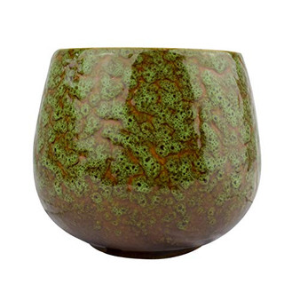 Baltus Candle Queen Luxury Ceramic Fragrance Candle With Gift Box, (Green Tea & Mint, 2 Wick)