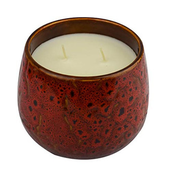Baltus Candle Queen Luxury Ceramic Fragrance Candle With Gift Box, (Oriental Rose, 2 Wick)