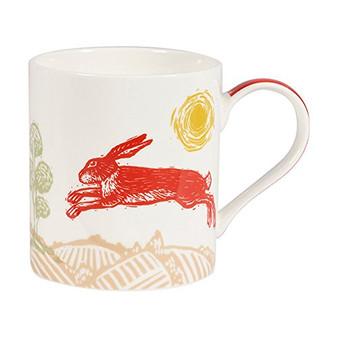 Churchill Woodcut Hare Mug in Gift Box