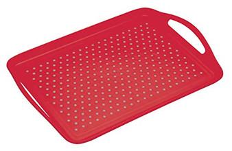 "KitchenCraft ColourWorks Non-Slip Plastic Serving Tray. 28.5 x 41 cm (11"" x 16"")"