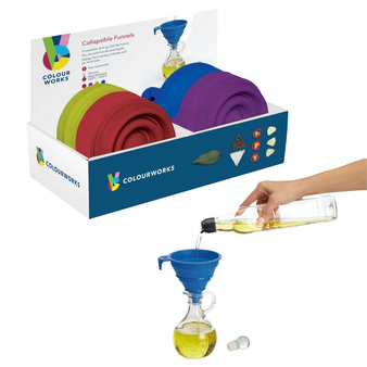 Kitchenkraft Colour Works collapsable Funnel - 11cm