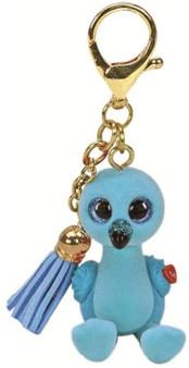 Ty - Mini Boo Key ring - William Flamingo