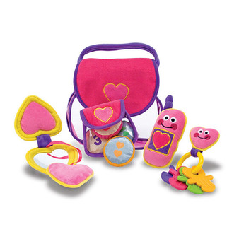 Melissa & Doug Pretty Purse Fill and Spill Soft Activity Toy