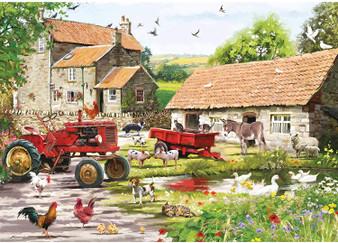 75369 JIGSAW 500 PIECE - ON THE FARM (L)