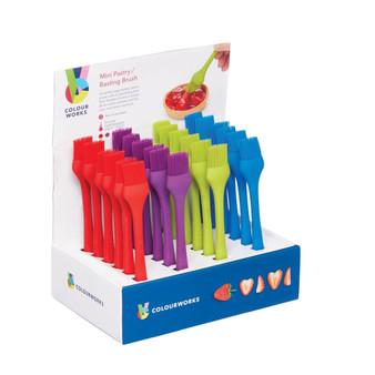 Kitchenkraft Colourworks Silicone Mini Pastry Brush