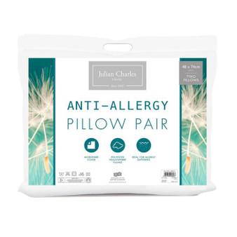 Anti Allergy Pillow Pair - Medium Support