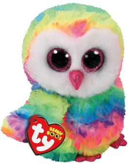 TY Owen the Owl Small Beanie Bo0