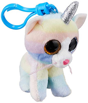 HEATHER CAT W/HORN - BOO - KEY CLIP