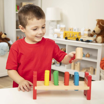 Pound-a-Peg Classic Wooden Toy