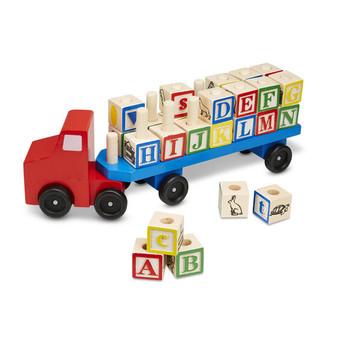 Wooden Alphabet Truck