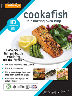 Toastabags Cookafish self basting oven bags - 10 pack - cooks fish perfectly!