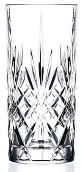 Set of 6 RCR Melodia Crystal Highball Glasses