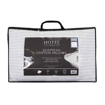 Egyptian Cotton Pillow Pair - Medium Support - 059749