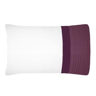 Soho Plum Housewife Pillowcase (Pair)