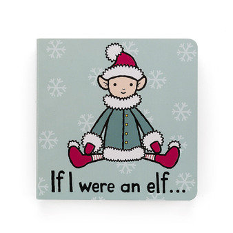 Jellycat 'If I were an Elf' Board Book