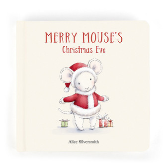 Jellycat Merry Mouse Book