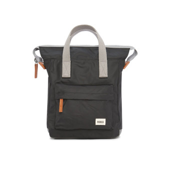 ROKA Bantry B Sustainable NYLON Bag / Backpack - SMALL - Black