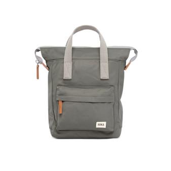 ROKA Bantry B Sustainable NYLON Bag / Backpack - SMALL - Alloy
