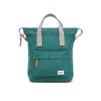ROKA Bantry B Sustainable NYLON Bag / Backpack - SMALL - Teal