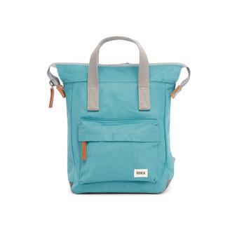 ROKA Bantry B Sustainable NYLON Bag / Backpack - SMALL - Petrol