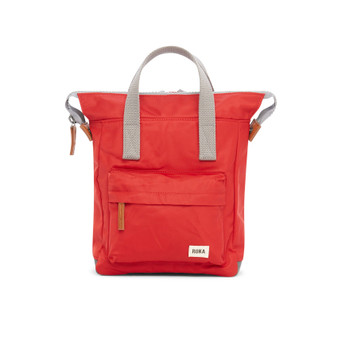ROKA Bantry B Sustainable NYLON Bag / Backpack - SMALL - Cranberry
