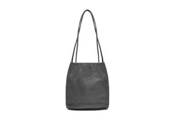 Women's LIGHT GREY shoulder hobo bag / sack / handbag with Handle and Soft faux Leather   ladies shopper   L&S6773