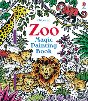 Usborne Zoo Magic Painting Book
