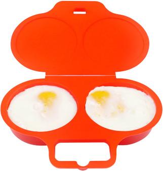 Good2heat Microwave Red Egg Poacher