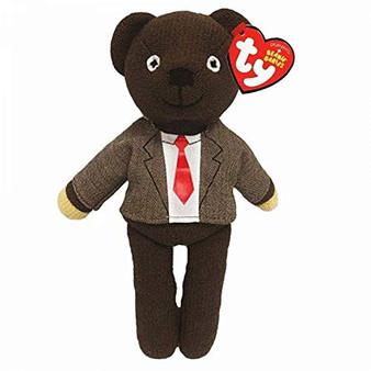 TY MR BEAN TEDDY BEAR JACKET & TIE - REG