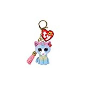 Ty - Mini Boo Key ring - Heather Cat