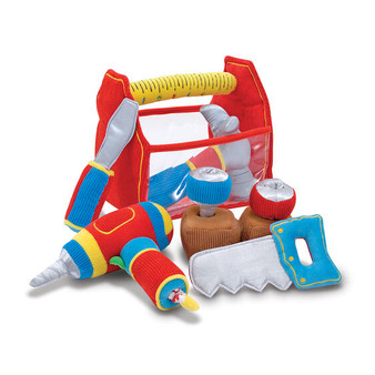 Melissa & Doug Toolbox Fill and Spill Soft Activity Toy