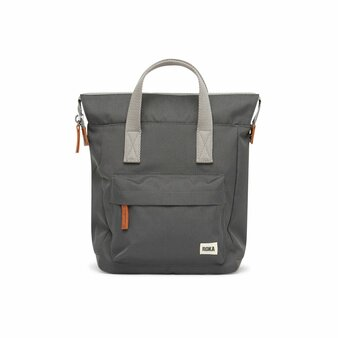 ROKA Bantry B Sustainable CANVAS Bag / Backpack - SMALL - Carbon