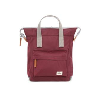 ROKA Bantry B Sustainable NYLON Bag / Backpack - SMALL - Plum