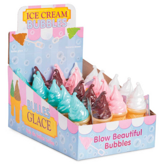 Ice Cream Wafer Cone Bubbles (14658)