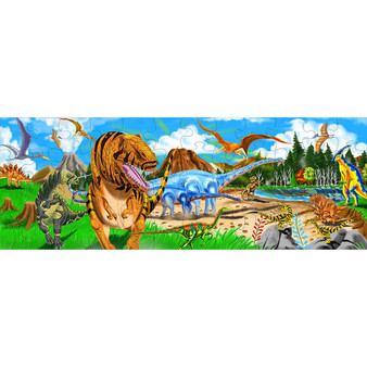 Land of Dinosaurs Giant Floor Puzzle - 48 Pieces