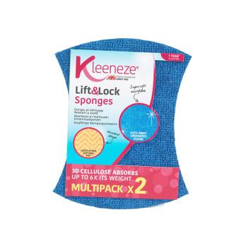 Kleeneze Lift & Lock Sponges - Pack of 2
