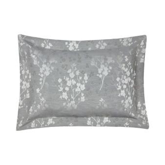 Flora Silver Luxury Oxford Pillowcases (Pair) - 059967