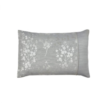 Flora Silver Luxury Jacquard Housewife Pillowcases (Pair) - 059966