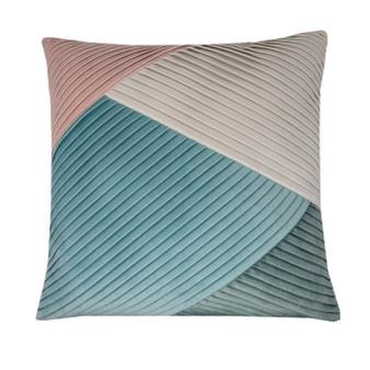 Multi Colour Velvet Cushion (43cm x 43cm) - 059758